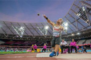Archivbild: Niko Kappel bei der Para-Leichtathletik-Weltmeisterschaft in London | Foto: Oliver Kremer