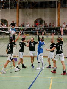 Botnanger Volleyballer haben Grund zu jubeln | Foto: Nora Kellermann