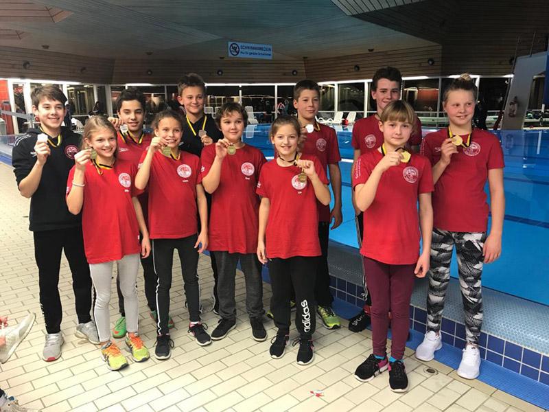 Die Teilnehmer des SV Cannstatt beim Württembergfinale der DMSJ | Foto: SV Cannstatt