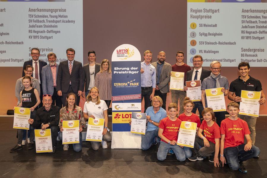 Die Preisträger der Region Stuttgart   Foto: STLG/Rein