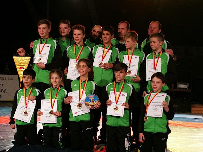 Die Weilimdorfer Jugendringer holen wieder die Deutsche Meisterschaft | Foto: SGW