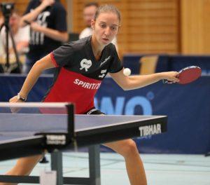 Saskia Becker gewann am Wochenende alle vier Spiele | Foto: DJK