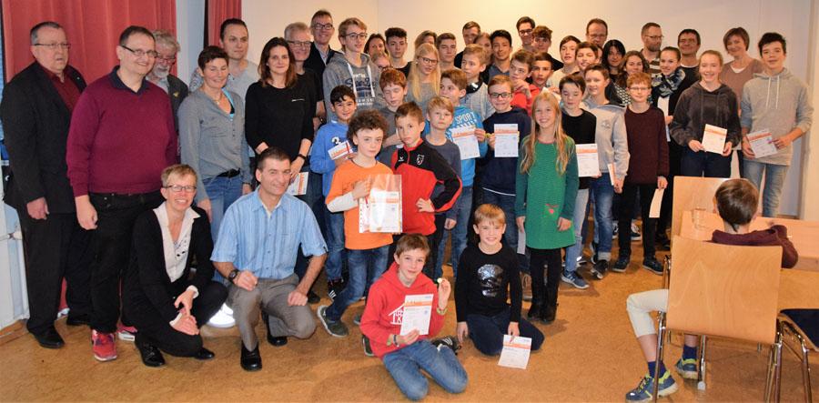Die Sportabzeichen-Absolventen der Sportvg Feuerbach | Foto: Sportvg