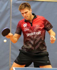 Sven Happek war mit drei Punkten fleißigster Punktesammler bei Sportbunds 9:4-Auswärtssieg in Bietigheim | Foto: DJK Sportbund