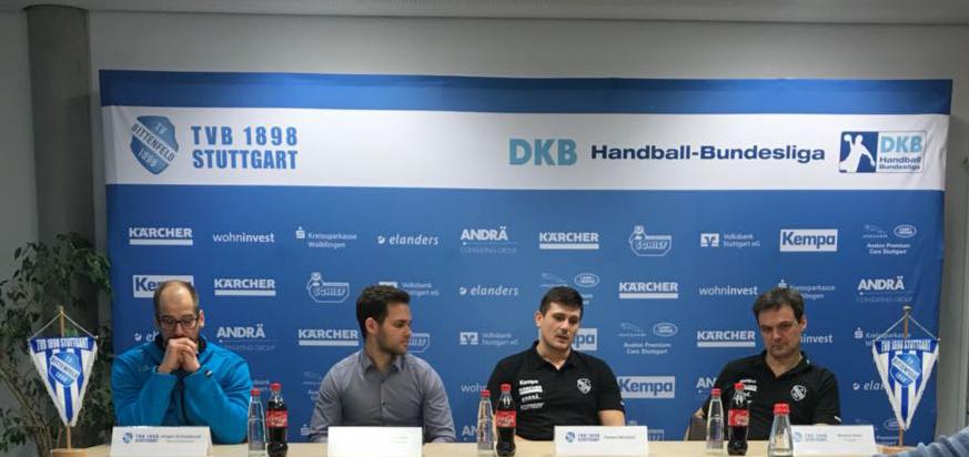 Die TVB Pressemitteilung v.l.n.r. Jürgen Schweikardt, Philipp Klaile, Robert Markotić, Markus Baur | Foto: Sahra Bakkou