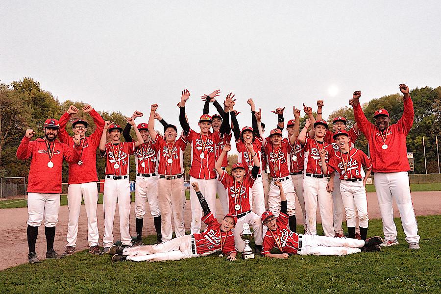 Deutscher Meister 2018: die U15 der Stuttgart Reds | Foto: Iris Drobny