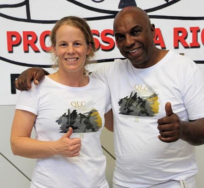 Ulrike Ricki Tiemann Arsenic mit Mestre Paulao | Foto: ACF