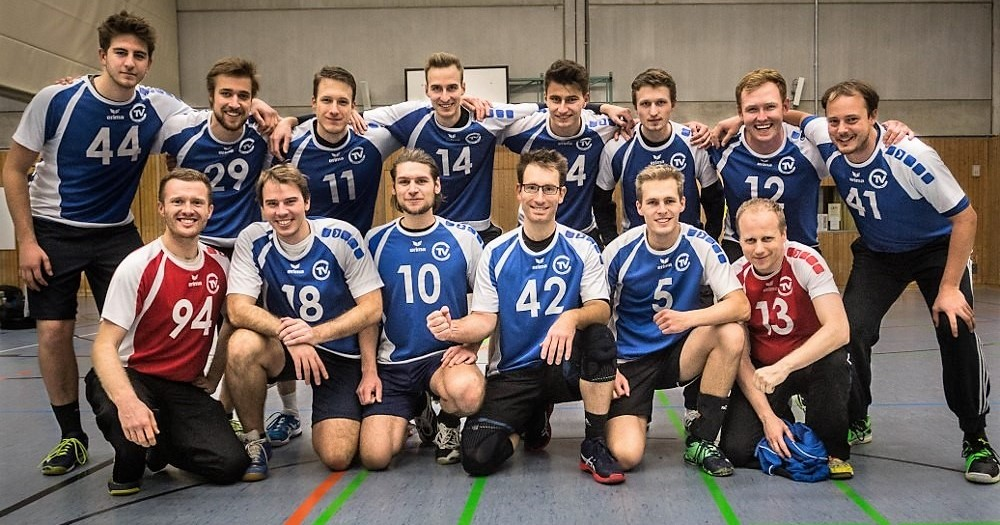 Team TV Cannstatt Herren 1 in der Saison 2018/19 | Foto: TVC