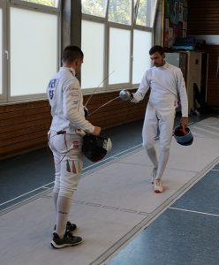 Max Weise und Alexander Kaltsamis | Foto: TSG