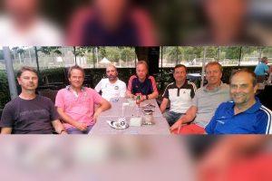 Das BCD-Trainerteam des ASV Botnang: Jugendleiter Stefan Wüstlich, Stefan Minkwitz (D), Khalid Abarriche (B), Michael Süselbeck (D), Viktor Knapp (C), Andre Trulsen (B), Günter Rommel (B) (Foto: ASV)