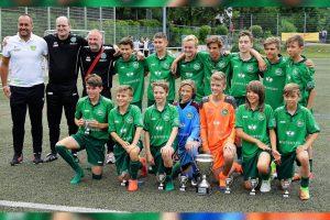 Das U13-Team des FC St. Gallen - Gewinner des Klinsmann-Cup 2017 (Foto: ASV)