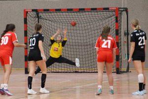 Spielszene vom Heimsieg der B-Jugend gegen die TSG Ketsch | Foto: Hbi