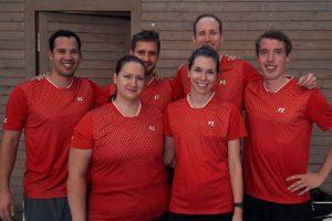 Die 1. Mannschaft Badminton des SV Fellbach | Foto: SVF