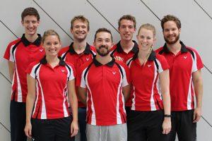 Die 2. Mannschaft Badminton des SV Fellbach | Foto: SVF