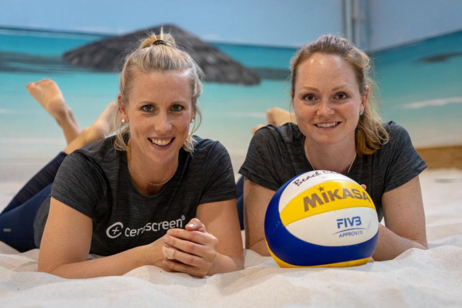 Das Beachvolleyball-Nationalteam Karla Borger/Julia Sude | Foto: Tom Bloch