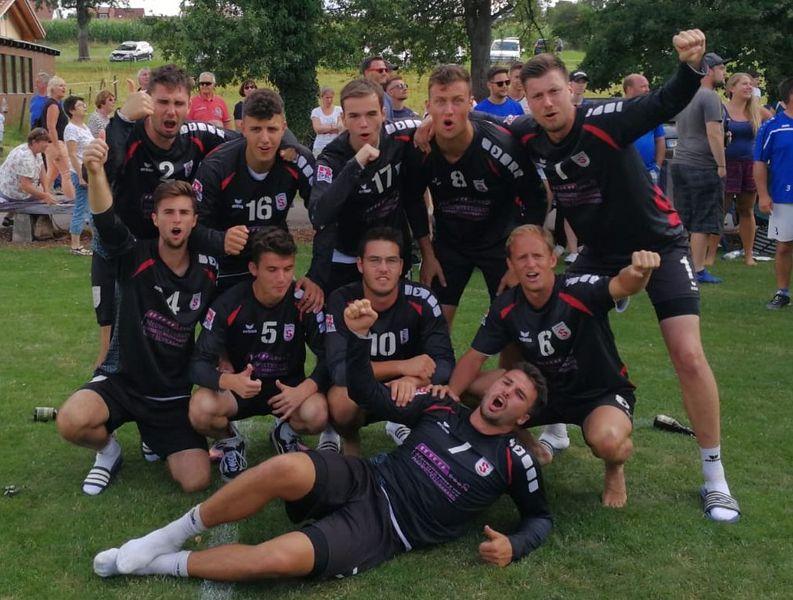 Die Herren des TV Stammheim mit Aufstieg in die 1. Bundesliga | Foto: TVS