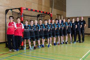 Die männliche D1-Jugend der Hbi Weilimdorf/Feuerbach | Foto: Hbi