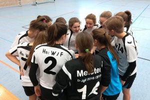 Die weibl. C-Jugend der Hbi beim Turnier in Hemmingen | Foto: Hbi