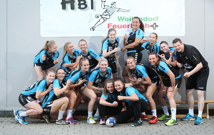 Die erste Damenmannschaft 2018/19 der Hbi Weilimdorf/Feuerbach | Foto: Hbi