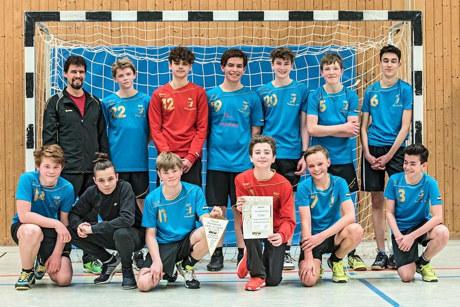 Das C-Jugend-Team der HSV Stammheim/Zuffenhausen | Foto: HSV