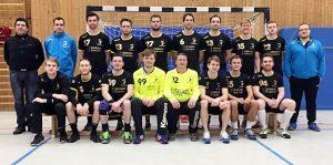 Das Team Herren 1 der HSV Stammheim/Zuffenhausen in der Saison 2017/18 | Foto: HSV