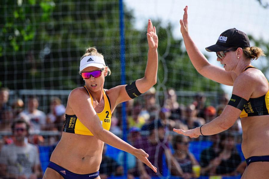 Karla Borger und Julia Sude | Foto: FIVB
