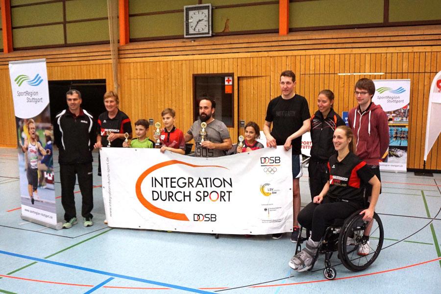 Impressionen vom Tischtennis-Inklusions-Regio-Cup 2018 des DJK Sportbund Stuttgart | Foto: H. K. Groeber