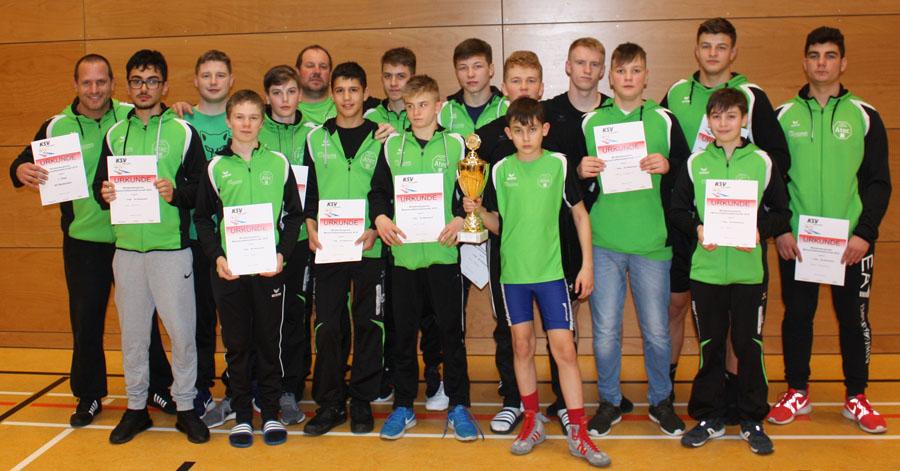 Die Jungen Wölfe erfolgreich bei den Württembergischen Mannschaftsmeisterschaften 2019 | Foto: SGW