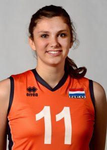 Die niederländische Nationalspielerin Juliët Lohuis | Foto: CEV