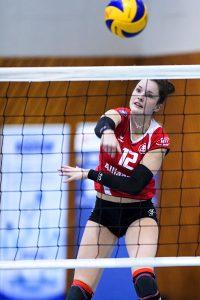 Julia Wenzel wurde in Dresden zur wertvollsten Stuttgarter Spielerin gekürt | Foto: Tom Bloch - www.tombloch.de