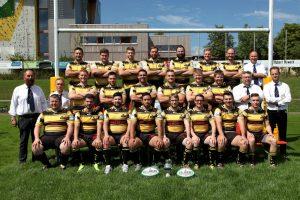 Das Rugbyteam des RC Rottweil in der Saison 2017/18 (Foto: RCR)
