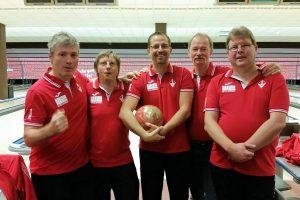 Archivbild: Das Bowling-Team des SV Vaihingen 2017 | Foto: SVV