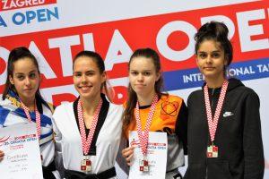 Lea Karmely gewinnt Gold bei den Croatia Open 2019 | Foto: TKD Center