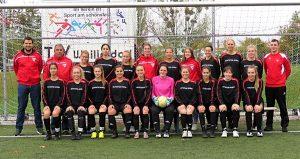 Damenmannschaft des TSV Weilimdorf 2017/2018 (Foto: TSV)