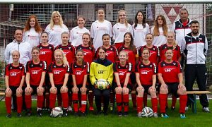 Das Damenteam des TSV Weilimdorf aus der Saison 2016/2017 (Foto: TSV)