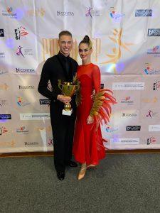 Madeline Weingärtner und Dominik Stöckl bei der EM | Foto: TSZ