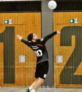 Bundesliga-Faustball beim TV Stammheim (Foto: Frank Weller, TV Stammheim)