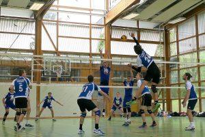 Die Herren 1 des TV Cannstatt-Volleyball im Finale gegen SV Remshalden | Foto: TVC