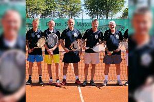 Das Team Herren 50 des TV Cannstatt (Foto: TVC)