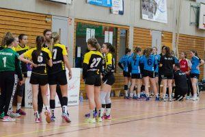Timeout beim Spiel der Hbi C-Jugend weiblich gegen den TV Nellingen | Foto: Hbi