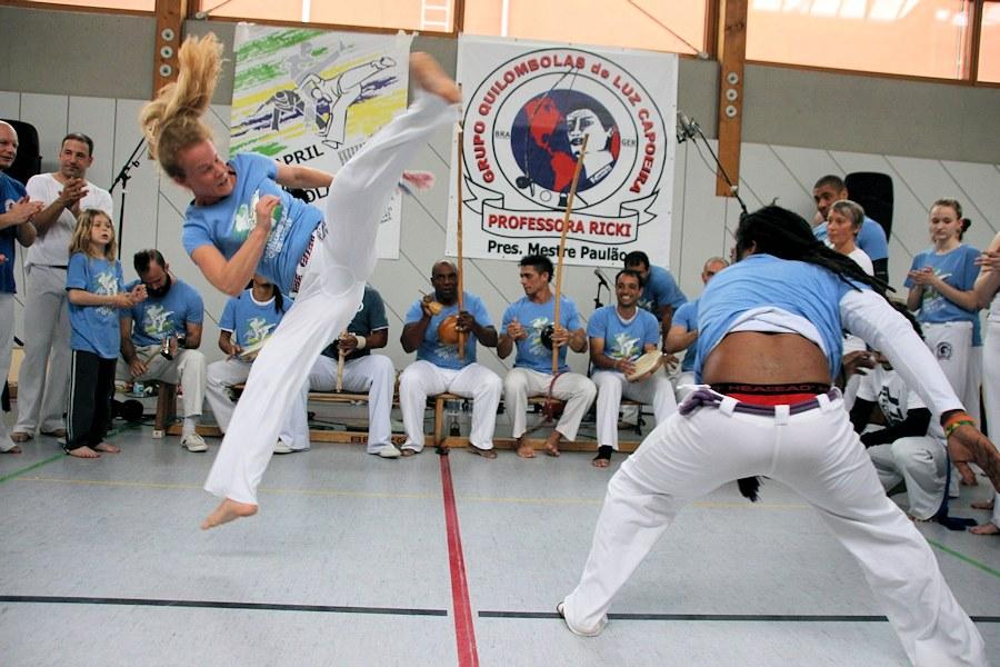 "Capoeira in""Aktion""   Foto: ACF"